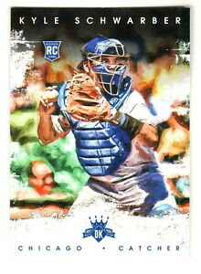 2016-Panini-Diamond-Kings-141-KYLE-SCHWARBER-RC-Rookie-Chicago-Cubs