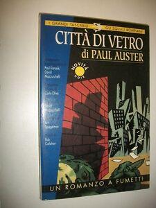PAUL-AUSTER-CITTa-DI-VETRO-BOMPIANI-12-1995-PRIMA-amp-ART-SPIEGELMAN-MAZZUCCHELLI-amp-C