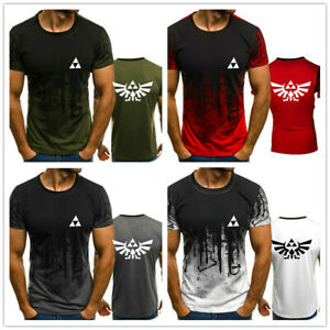 New-Legend-of-Zelda-3D-Print-Men-039-s-T-shirt-Game-Graphic-Male-039-s-Tops-Sports-Tee