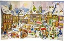 # Adventskalender # Sellmer Nr. 110, Stadt Panorama. Reprint v. 1958 wunderschön