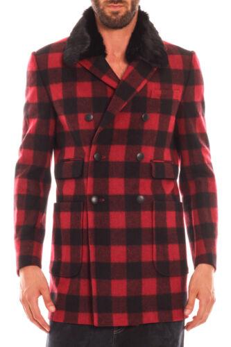 Uomo Coat Rosso Alessandrini T370m4123505 Daniele Cappotto 9 Jacket q7C6RWw