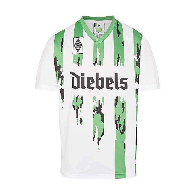 Score Draw Borussia Mönchengladbach Maglia 1995