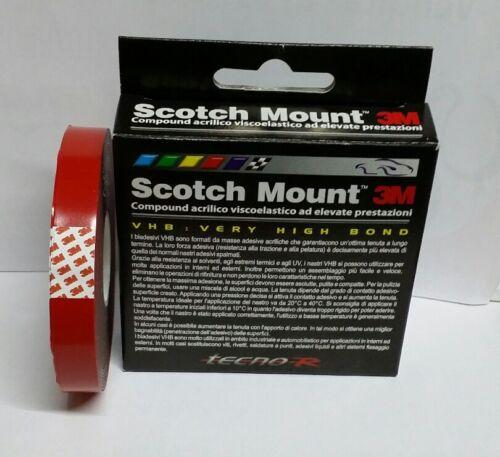 SCOTCH MOUNT mm 12 x 5 mt  1483 BIADESIVO 3M A.F.T