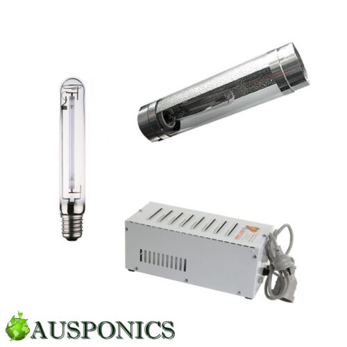 600W MAGNETIC BALLAST + HPS Lamp + Cooltube Inside Reflector Lighting Kit