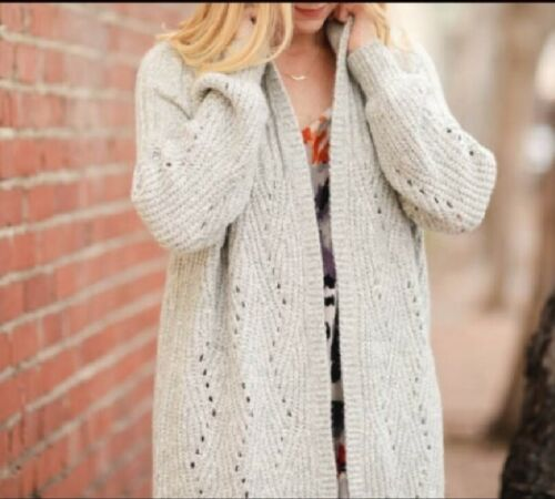 Cabi 2017 Fall Cathedral Cardigan Size L NEW $139 Relaxed and easy fit