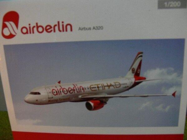 1 200 Herpa Air Berlin Etihad Airbus a320 Prix Spécial  au lieu de  556569