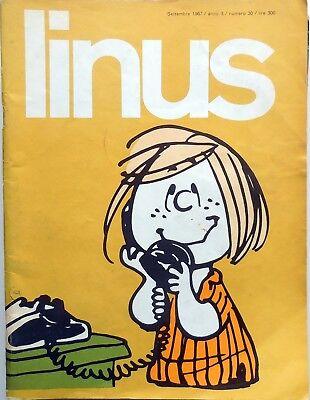 LINUS 1971 Figurina Nuova  n° 142