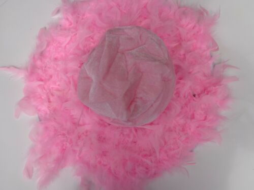 PINK FEATHER HAT~*~PRINCESS TEA PARTY,GIRL DRESS UP