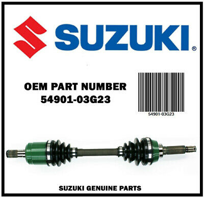 2002-2007 LT-A500F // LT-F500F Complete Suzuki OEM Front Right Drive-Shaft 54901-03G23 Suzuki Vinson 500 4x4 CV Axle