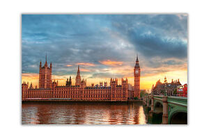 Houses-of-Parliament-in-London-City-Poster-Prints-Wall-Art-Decoration
