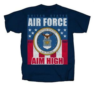 U-S-Air-Force-USAF-Banner-Flag-Free-NAVY-Adult-Shirt