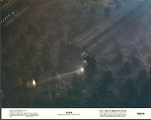 ALIEN orig 1979 glossy lobby card RIDLEY SCOTT 11x14 movie poster FIRST PRINTING