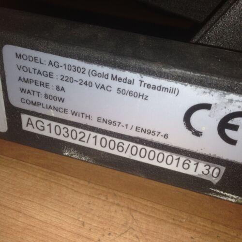PULSE HAND SENSORS FOR SALE ONLY ROGER BLACK GOLD MEDAL TREADMILL AG-10302