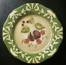 "CERTIFIED INTERNATIONAL ""LA TOSCANA"" PLUM SALAD/DESSERT PLATE(S) PAMELA GLADDING"