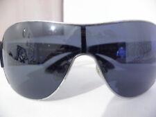 546c35e2112 Authentic CHANEL Sunglasses 5167 Black Oversized C.1143 3c Silver CC ...