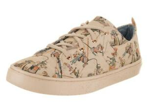 d59af05b95f33 Details about TOMS Disney LENNY GUS & JAQ Mice Printed Canvas Shoes Youth 6  / Wms 7.5 NWT DISC