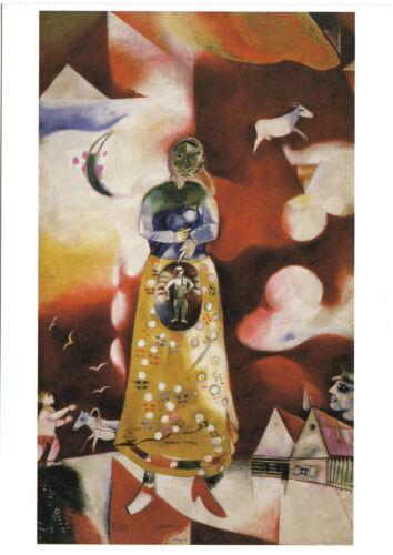 Kunstpostkarte Maternitè Mutterschaft Marc Chagall