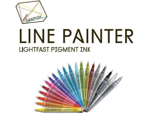 Derwent Graphik Line Painter 0 5mm Artist Paint Pen