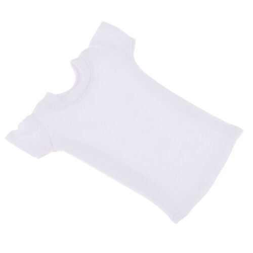 1//6 Girl Top T-Shirt Short Sleeve for 12/'/' Sideshow Action Figure Body White