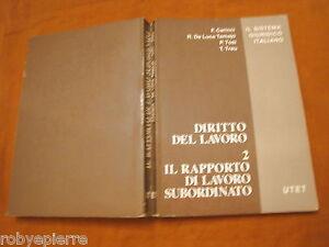 Diritto-del-lavoro-2-Il-rapporto-di-lavoro-subordinato-UTET-Carinci-Tosi-Tamajo