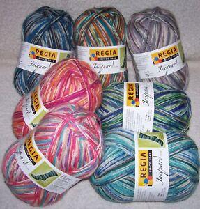 5,90 €// 100 Gr Regia Rustic Color Sock Yarn 4-fach//4 Thread