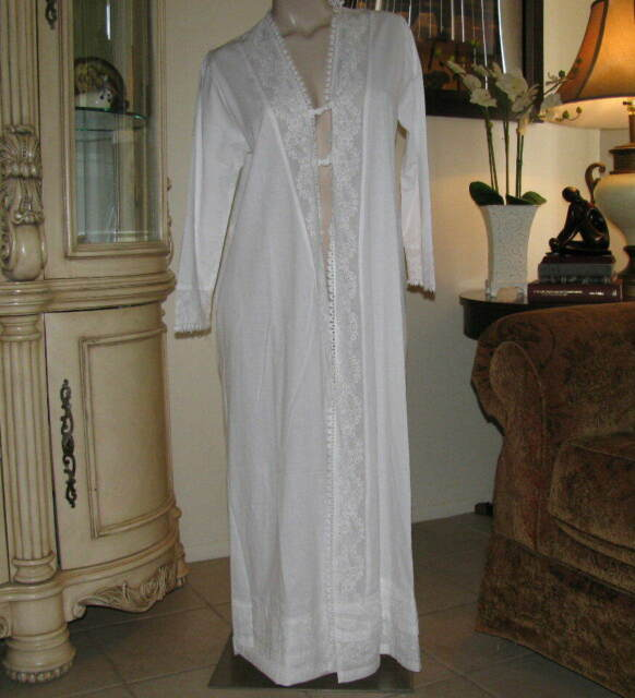 Rosalind The 1 for U 100/% Cotton Ladies Robe//Housecoat