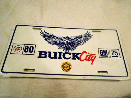 Buick City Full Size Commemorative License Plates