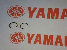YAMAHA WRIST PIN PISTON PIN CIRCLIPS (2) YZ100 1976-1983 cw16