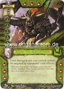 Warhammer Invasion 1x Korhil Engl #009