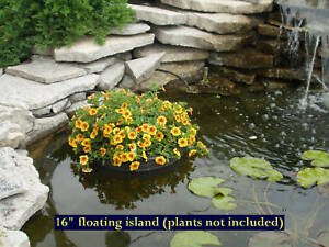 image is loading 16 034 floating island pond planter water garden - Water Garden Plants