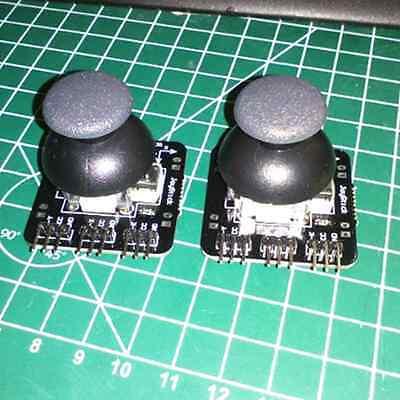 Neu Schwarz Joystick Breakout Modul Sensor PS2 Joystick Controller für Arduino