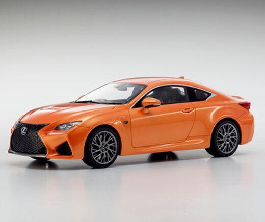 Lexus RC F orange 1 18 Kyosho KSR18006OR