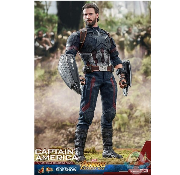 1/6 Avengers: Infinity War Captain America MMS Hot Toys 903430