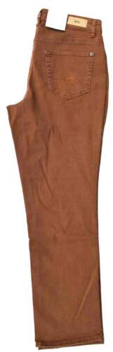 MAC Jeans MELANIE Stretch Rouille Marron straight fit colourdenim NEUF