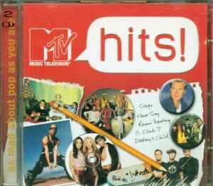 Mtv-Hits-U2-Blink-182-Depeche-Mode-Destiny-039-S-Child-2X-Cd-Perfetto