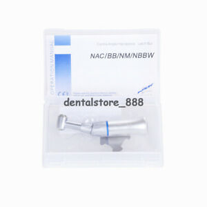 NSK Style Dental Push Button Contra Angle Low Speed for High Speed Bur FG1.6mm