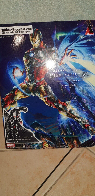 Play arts kai Iron man variant Farbe Marvel universe