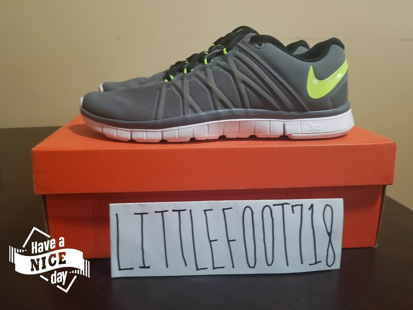 New NIKE FREE MENS FREE NIKE TRAINER 3.0 630856-030 713424