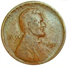 1922 NO D WEAK REVERSE UNITED STATES LINCOLN WHEAT CENT COIN