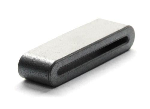 5x Ribbon Cable Flat ferritas Core suppression filtro 21-way slot 33.5x10x6.5mm