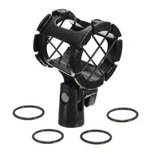 Universal-Shotgun-Microfono-Mic-Sospensione-Shock-Mount-matita-Clamp-Holder-Rack