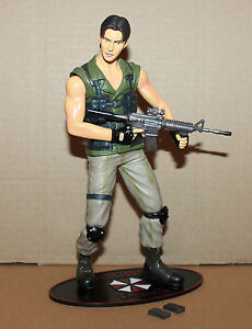 Resident Evil Biohazard Carlos Oliveira Action Figure Moby Dick Ebay
