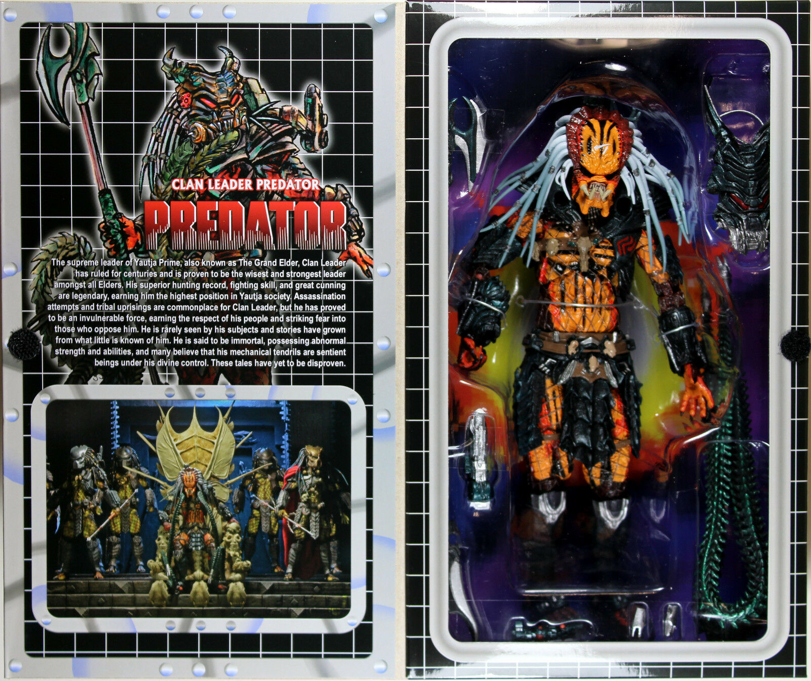 PROTators  DELUXE CLAN LEADER PROTATOR ACTION FIGURE  NECA
