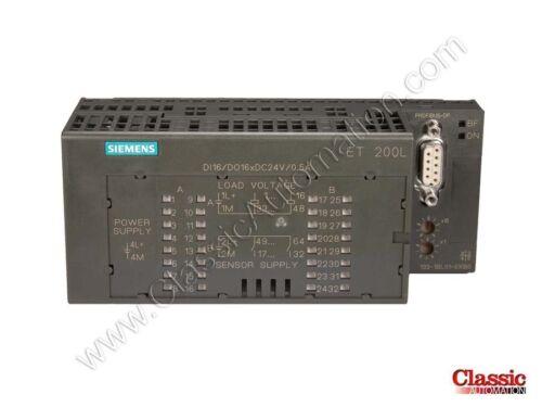 Refurbished Siemens6ES7133-1BL01-0XB0Digital Input//Output Module