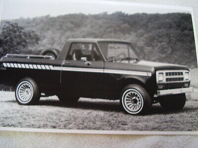 1980 International Scout Terra Pickup 11 X 17 Photo Picture Ebay