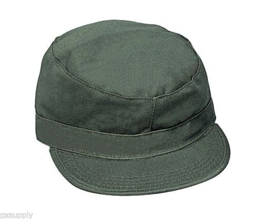 ROTHCO MILITARY ULTRA FORCE OD RANGER GREEN PATROL CAP HAT SIZE7-8 army bdu navy