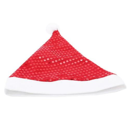 Christmas Hats Santa Sequins Hat Decor Hats Children Adults New Year Gifts DD