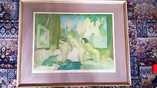 Rare  Large Early Russell Flint Signed Print - Frost & Reed 1951