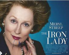 Meryl Streep Signed THE IRON LADY 10x8 Photo AFTAL OnlineCOA (B)
