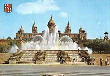BR84704 barcelona puente monumental y palacio nacional de montjuich spain